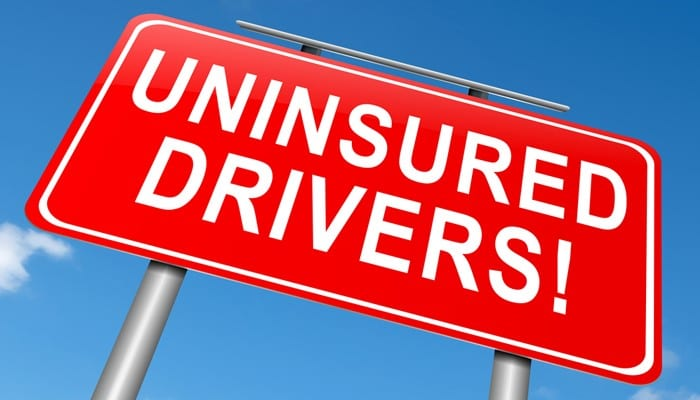 uninsured drivers sign